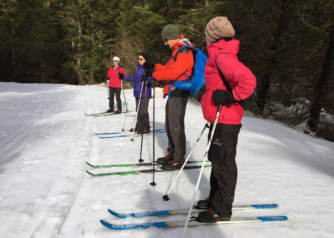 xc skiing mt hood